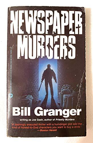 9780446342902: Newspaper Murders