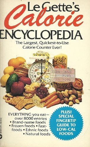 9780446343183: Le Gettes Calorie Encyclopedia
