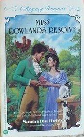 9780446343336: Miss Rowland's Resolve