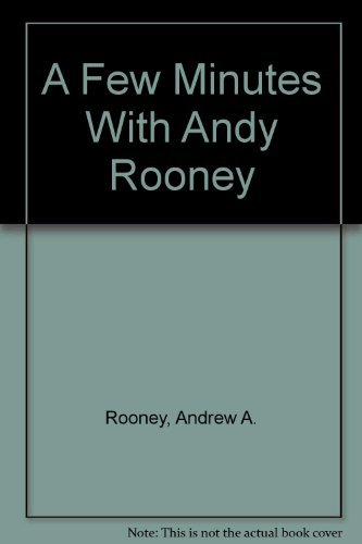 9780446347662: A Few Minutes With Andy Rooney