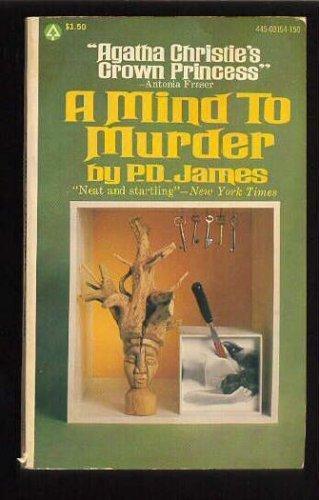 9780446348287: A Mind to Murder (Adam Dalgliesh Mystery Series #2)