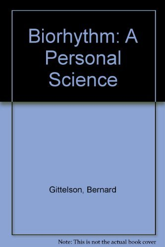 9780446348478: Biorhythm: A Personal Science