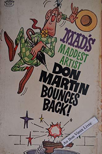 9780446349604: Mad's Maddest Artist Don Martin Bounces Back