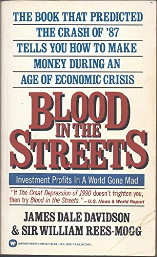 9780446353168: Blood in the Streets: Investment Profits in a World Gone Mad