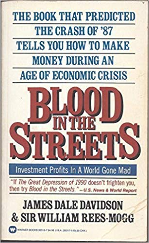 9780446353168: Blood in the Streets