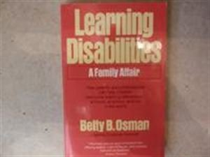 9780446355544: Learning Disabilities