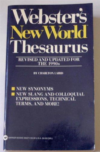9780446360272: Webster's New World Thesaurus