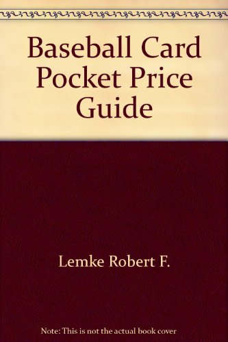 9780446360487: Baseball Card Pocket Price Guide