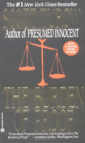 9780446360586: The Burden of Proof