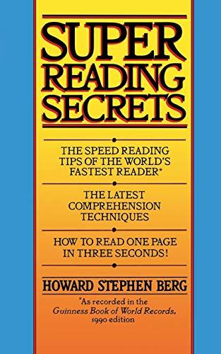 9780446362993: Super Reading Secrets