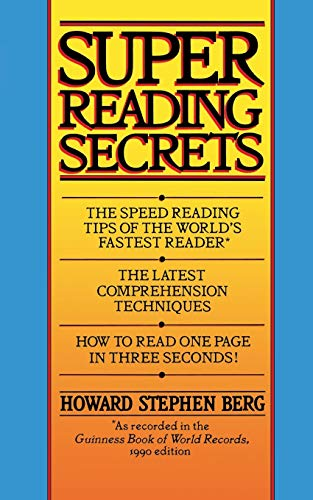 9780446362993: Super Reading Secrets