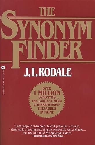 9780446370295: Synonym Finder