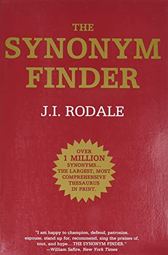 9780446370295: The Synonym Finder