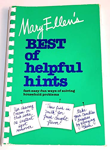 9780446371698: Mary Ellen's Best Helpful Hints