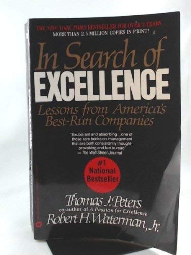 In search of Excellence: Thomas J. Peters,