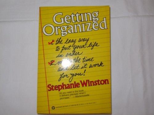 9780446379564: Getting Organized