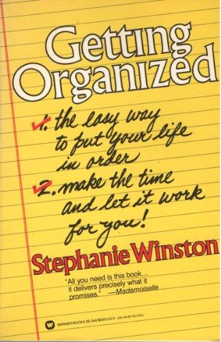 9780446383448: Getting Organized