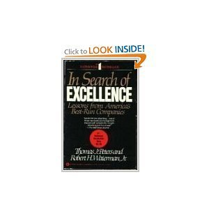 9780446383905: In Search of Excellence : Lessons from Americas Best Run Companies