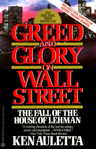9780446384063: Greed and Glory on Wall Street