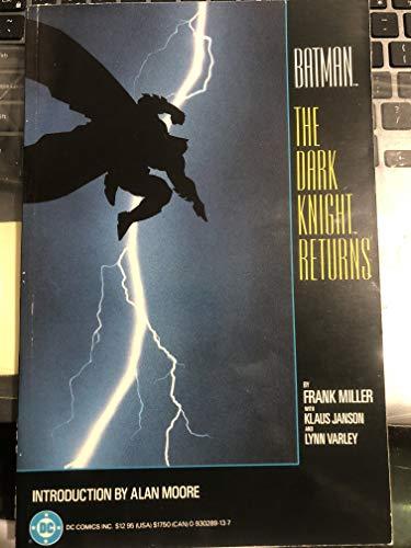 9780446385053: Batman: The Dark Knight Returns