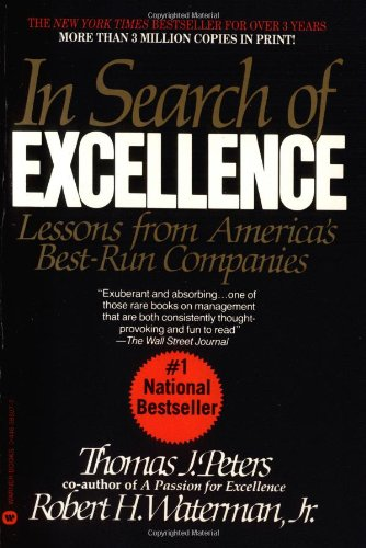 9780446385077: In Search of Excellence: Lessons from Americas Best Run Companies