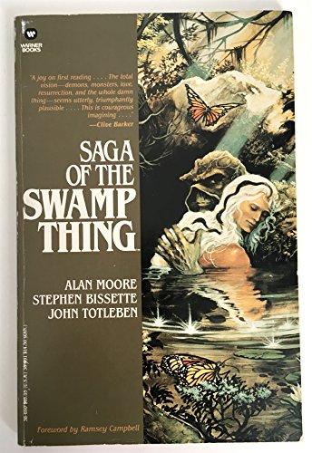 9780446386906: Saga of the Swamp Thing