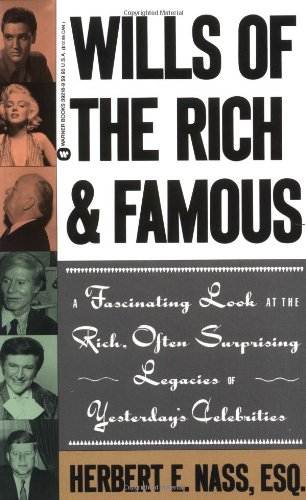 9780446392181: Wills of the Rich and Famous