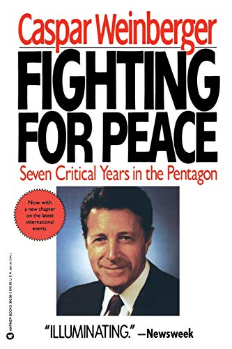 9780446392389: Fighting for Peace: 7 Critical Years in the Pentagon