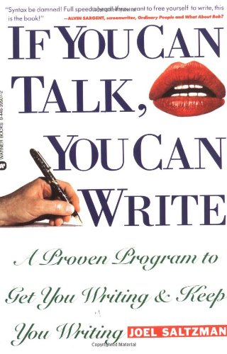 9780446395076: If You Can Talk You Can Write