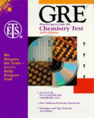 GRE: Practicing to Take the Chemistry Test,: Educational Testing Service