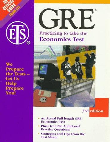 9780446396301: Graduate Record Examination: Economics Test (Practicing to Take the Gre Economics Test)