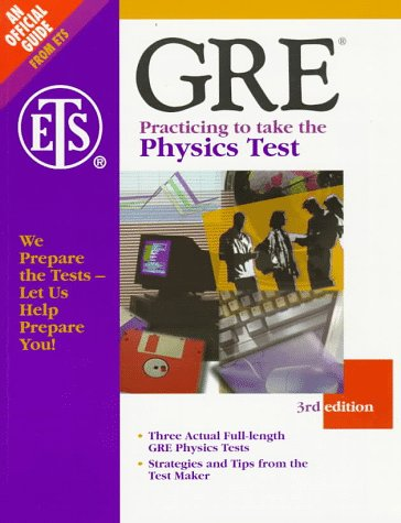 9780446396349: Gre: Practicing to Take the Physics Test (3rd ed)