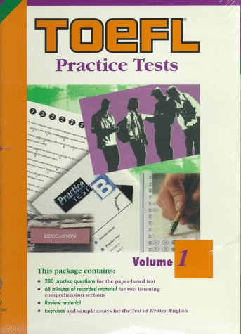 9780446396400: Toefl Practice Tests