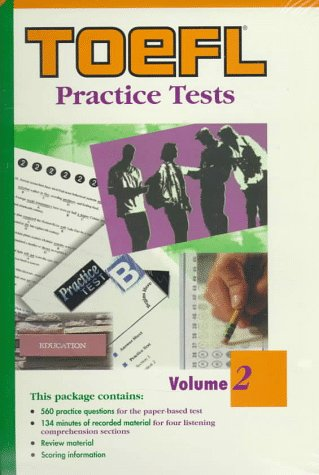 9780446396424: Toefl Practice Tests