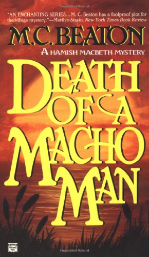 9780446403405: Death of a Macho Man (Hamish Macbeth Mysteries, No. 12)