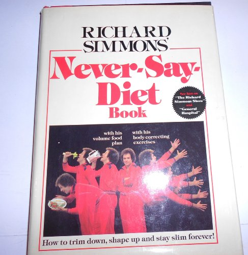 Never-Say-Diet Book with Signed Letter Included