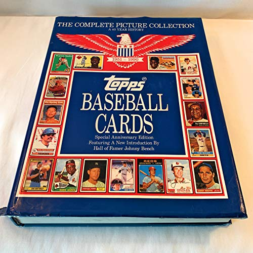 9780446515795: Topps Baseball Cards: Complete Picture Collection, 40-Year History, 1951-1990