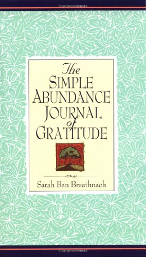 9780446521062: Simple Abundance Journal of Gratitude
