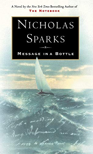 9780446523561: Message in a Bottle (Roman)