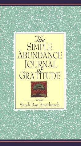 9780446523950: Simple Abundance Journal of Gratitude