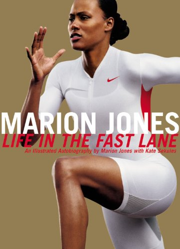 9780446524551: Marion Jones: Life in the Fast Lane - An Illustrated Autobiography