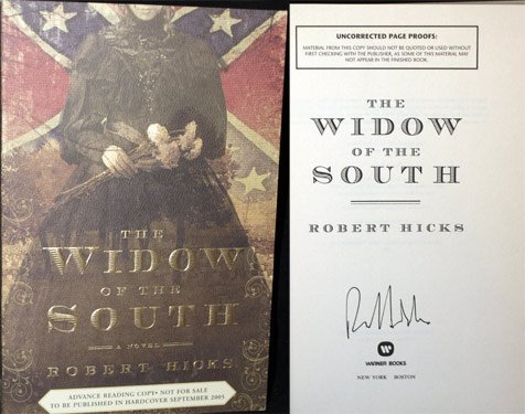 9780446526630: The Widow of the South