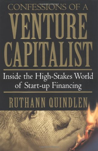 9780446526807: Confessions of a Venture Capitalist: Inside the High-Skates World of Start-Up Financing