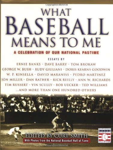 9780446527491: What Baseball Means to Me: A Celebration of Our National Pastime