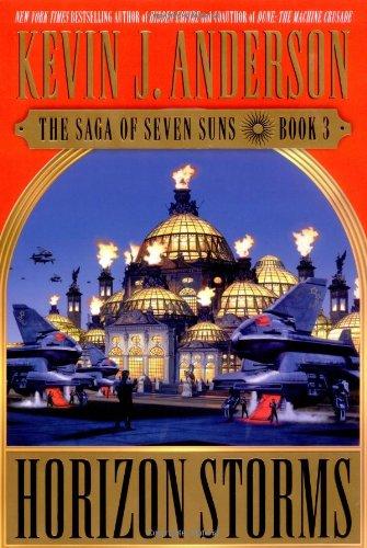9780446528726: Horizon Storms: The Saga of Seven Suns - Book #3