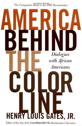 9780446532730: America Behind The Color Line: Dialogues with African Americans