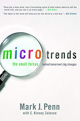 9780446536431: Microtrends