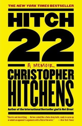 9780446540346: Hitch 22 a memoir