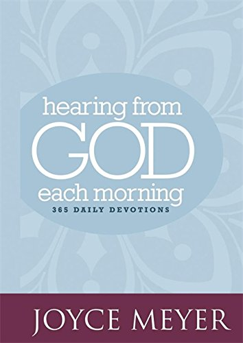 9780446557856: Hearing from God Each Morning: 365 Daily Devotions (Faith Words)