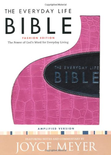 The Everyday Life Bible Format: LeatherBound: Meyer, Joyce